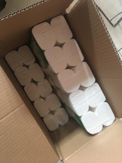 清风(APP)无芯卷纸 马蹄莲系列 3层100克卫生纸*40卷 平纹长卷(整箱销售) 晒单图