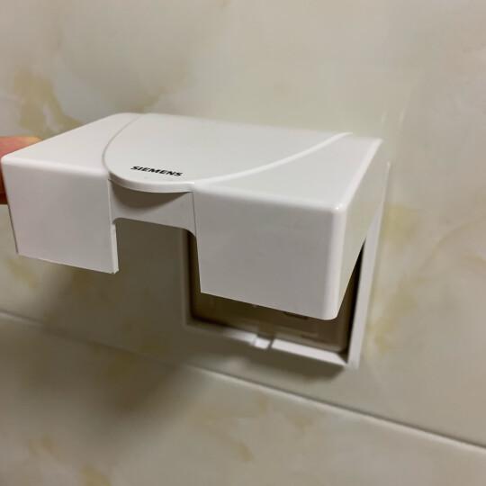 西门子(SIEMENS)开关插座 远景系列 空白面板 白板(雅白色)5TG05001CC1 晒单图