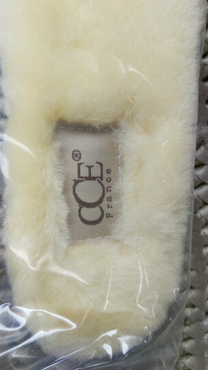法国CCE冬季保暖羊毛鞋垫男女羊皮毛一体雪地靴鞋垫 图片色 40 晒单图
