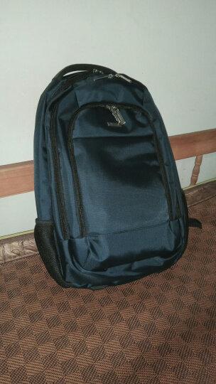 老人头(LAORENTOU)双肩包男女多功能学生书包笔记本商务电脑包大容量旅行背包 847J010L1G1 蓝色 晒单图
