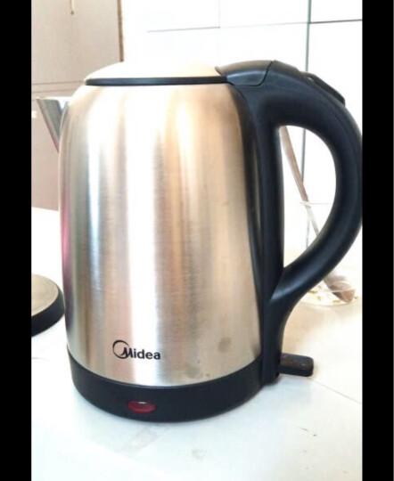 美的(Midea)电水壶热水壶电热水壶304不锈钢水壶1.7L容量烧水壶WSJ1703b 晒单图