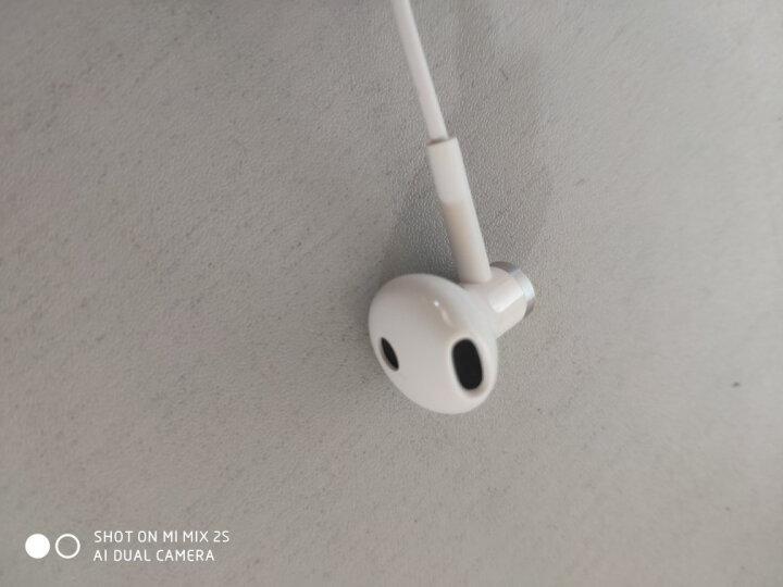 小米(MI)小米双单元半入耳式耳机 白色 动圈+陶瓷喇叭双单元声学架构 高韧性线材+微机电麦克风线控 晒单图