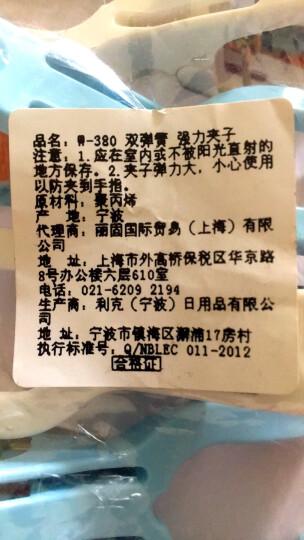 日本丽固(LEC)防滑双弹簧晾晒夹子6枚入 380 晒单图