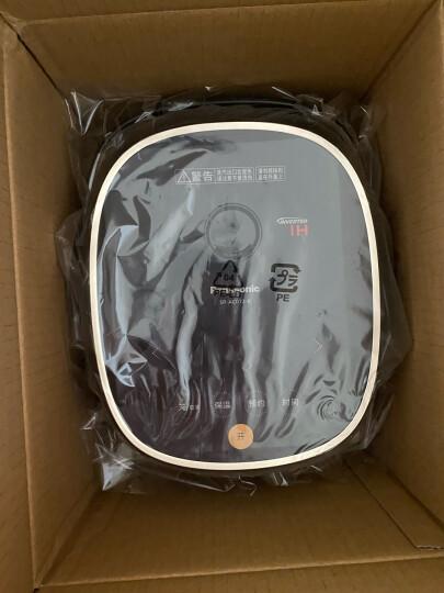 松下(Panasonic)3L(对应日标1L)电压力饭煲 电饭锅 1-4人 IH电磁加热 备长炭内锅 可预约 SR-E10H1-W 晒单图