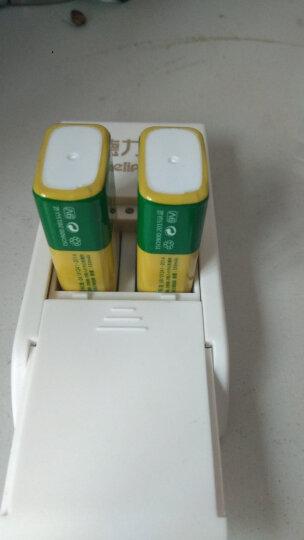 德力普(Delipow) 9V充电电池  充电套装6F22 适用万用表/无线麦克风/烟雾报警器/话筒 单节180毫安9V金帽电池 晒单图