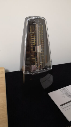 CHERUB小天使机械节拍器钢琴吉他小提琴古筝通用节拍器 WSM-330透明粉 晒单图
