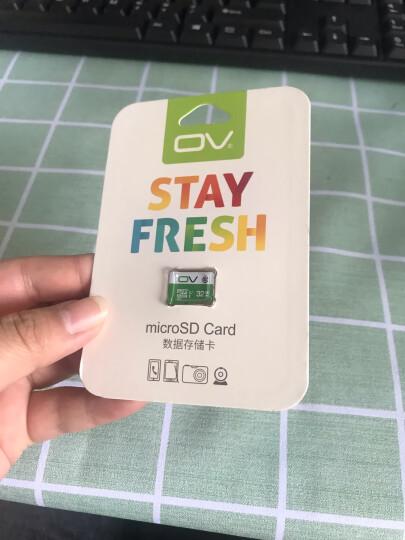 OV 32GB TF(MicroSD)存储卡 U1 C10 热销标准版 读速80MB/s 手机平板音响点读机高速存储卡 晒单图