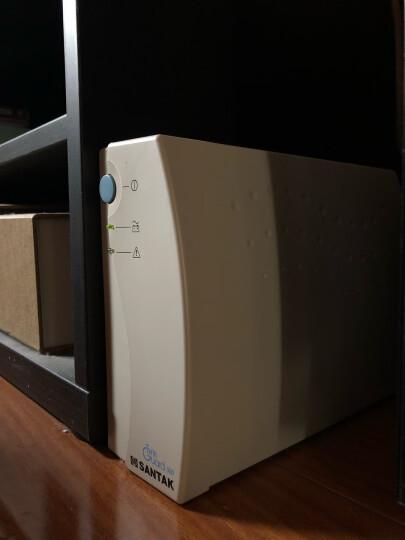 山特UPS(SANTAK)后备式TG500不间断电源500VA/300W断电延长防浪涌家用电脑办公 晒单图