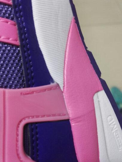 361度女鞋跑步鞋2019春夏季新款官方正品361度复古网面透气旅游鞋运动鞋子女R 6U灰/薄荷紫 39 晒单图