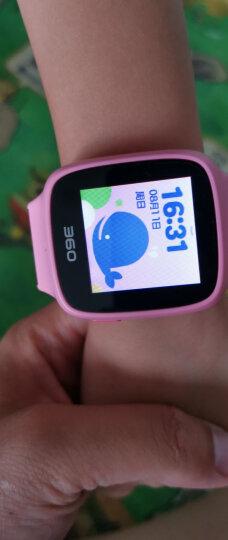 360 儿童电话手表SE2 Plus彩色触屏智能定位GPS语音通话W605 SE2Plus蓝色+充电插头+表带+贴膜+水彩笔 晒单图