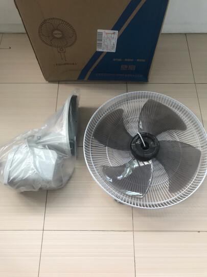 奥克斯(AUX)电风扇/四扇叶遥控壁扇/工业家用壁挂式风扇/大风量壁扇FW-40-C1601RC  晒单图