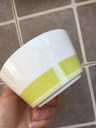 亿嘉IJARL 韩式创意家用陶瓷碗盘碟子46头餐具套装结婚乔迁送礼 格林 晒单图