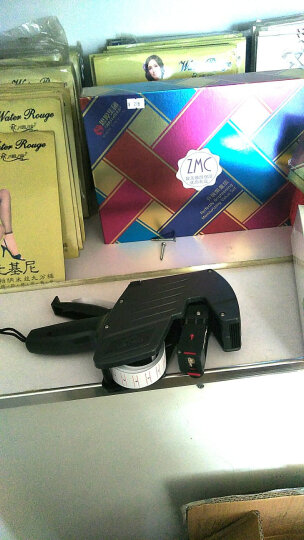 得力(deli)打码机 打生产日期标价机打价机打价器超市单排价格标签机 7500 8位 晒单图