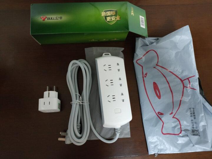 公牛(BULL)GN-L01A 2位美标转国标 电源转换器插座/转换插头 适合国外使用(美国 加拿大 巴西  墨西哥等) 晒单图