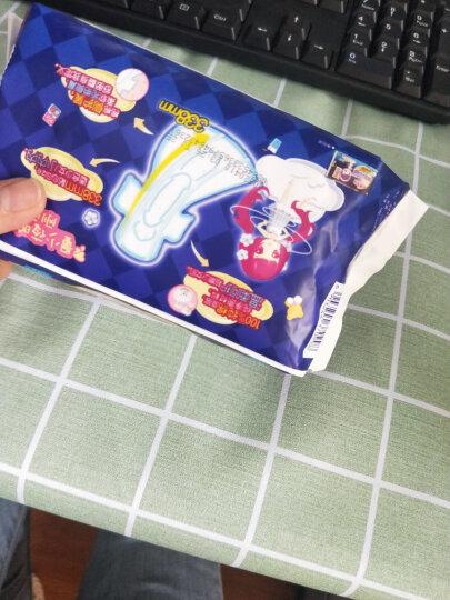 七度空间(SPACE7) 少女超薄纯棉 超长夜用卫生巾338mm*8片 晒单图