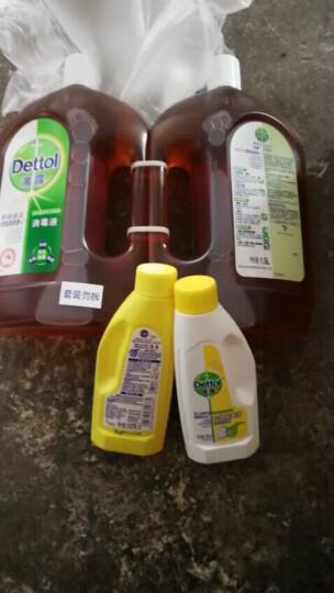 滴露 消毒液1.5L*2瓶 多功能家用宠物儿童衣物室内伤口除菌内衣消毒剂 可配洗衣液 非84消毒水 伤口也适用 晒单图