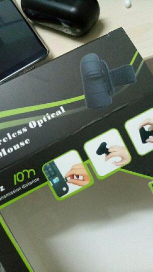 奥古者(AOGUZHE) 迷你无线手指鼠标懒人指环光电手机平板蓝牙鼠标创意个性新新奇礼品 紫色 官方标价 晒单图