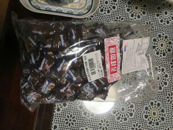 阿尔卑斯巧克溢烫锅花生味夹心太妃糖单粒包装袋装1kg(约200颗) 婚庆糖果 休闲零食(新老包装交替发货) 晒单图