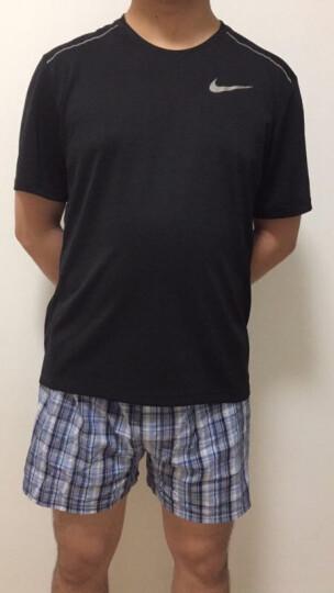 NIKE耐克 2020夏季男子跑步运动健身训练圆领T恤短袖上衣BV5632-010 BV5632-010-2020夏季 XL 晒单图