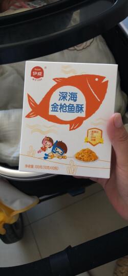 伊威(Eastwes)  深海三文鱼酥 儿童零食 辅食肉酥100g(10小袋分装)肉酥≠肉松 晒单图