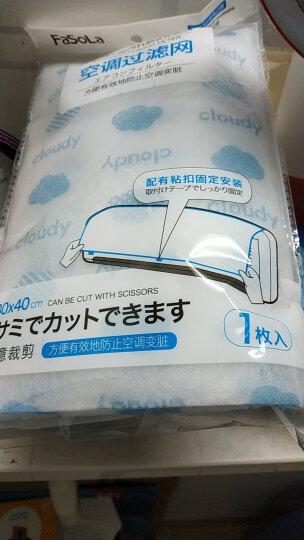 FaSoLa空调过滤网空调防尘膜空调防尘网 蓝色云朵买一送一 晒单图