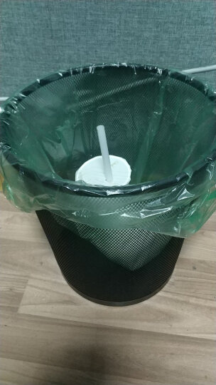 齐心(COMIX)8L 不锈钢垃圾桶/时尚脚踏垃圾桶/清洁桶 创意静音 缓降防臭L210 晒单图