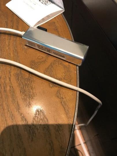 倍晶USB转网线转换器小米笔记本Air13联想苹果华为电脑外接口网卡hub戴尔微软15.6转接头扩展 USB接口千兆3.0苹果银 送两根网线+收纳袋 晒单图