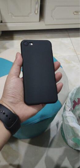 蒙奇奇 iPhone7/8手机壳苹果8plus/7p手机套超薄防摔磨砂全包保护壳 5.5英寸深邃蓝 全包保护 晒单图