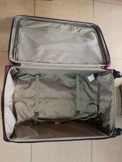 汉客(HANKE)行李箱20英寸拉杆箱24英寸男女小旅行箱子牛津布万向轮登机箱皮箱密码箱包8039 紫色 升级版 28英寸【需托运 适合10天以上长途旅行 送箱套】 晒单图