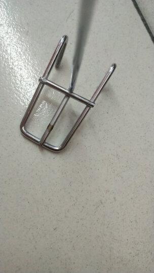 德将  超市批发货架挂钩 配件网片挂钩网格钩 饰品洞洞板钩子槽板钩 槽板钩网钩 20CM 晒单图