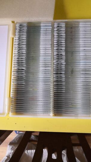 萨伽(SAGA) 生物显微镜标本切片套装载玻片盖玻片 学生观测动植物人体组织细菌 孩子礼物 100片装 晒单图