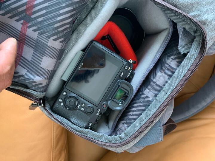 曼富图(Manfrotto)相机包 双肩包 MB LF-WN-BP 可携带三脚架 上下分层设计 温莎系列 晒单图