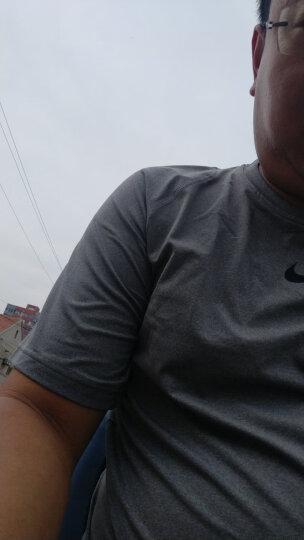 耐克NIKE健身衣男紧身衣短袖T恤 nike pro紧身服健身服男圆领训练上衣 19年耐撕扯弹性好838094-010 XL 晒单图