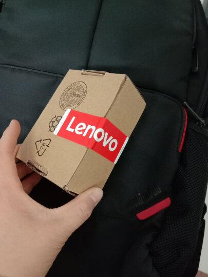 联想ThinkPad笔记本电脑包双肩背包14/15.6英寸B200 双肩包+m120有线大红点 鼠标 晒单图