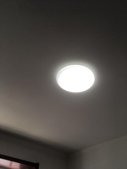 欧普照明led灯板 一体化日光灯盘 超亮节能灯管全套改造光管 (1只装)*36瓦三档*适用底盘直径≥30厘米 晒单图