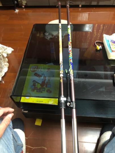 Tab碳素钓鱼支架超轻超硬鱼竿支架钓箱钓椅通用渔具炮台架杆竿架带后挂 2.4M 晒单图