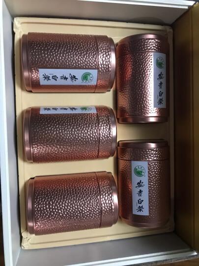 古琴香茶叶 2019年安吉白茶 明前绿茶 安吉珍稀白茶 250g礼盒包装 晒单图