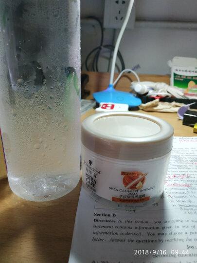 施华蔻(Schwarzkopf)羊绒脂大套装(洗发水400ml+护发素400ml+发膜150ml+水150ml)(新老包装随机) 晒单图