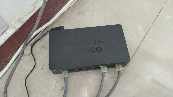 思科(Cisco)SF95D-08 8口 百兆企业级交换机 晒单图