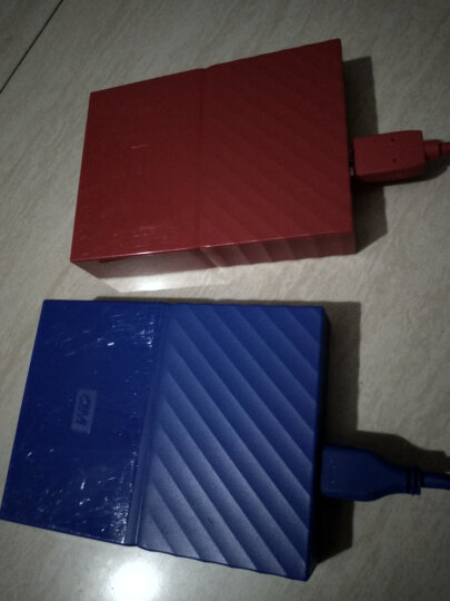 西部数据(WD)4TB USB3.0移动硬盘My Passport  2.5英寸 贵族蓝(密码保护 自动备份)WDBYFT0040BBL 晒单图