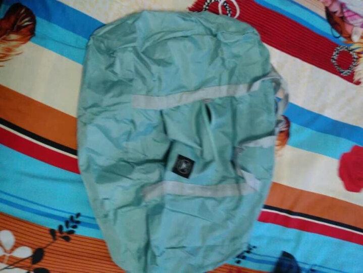 Naphele奈菲乐 折叠旅行包手提行李袋大容量登机包防水套拉杆箱收纳袋四色可选 天蓝色 晒单图