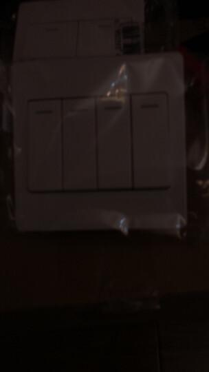 公牛开关插座面板86型墙壁插座墙面多孔多功能多用电源暗装电脑插座(超五类)网线插座网络面板单口 晒单图