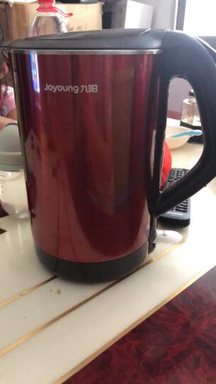 九阳(Joyoung)热水壶 烧水壶 1.7L无缝内胆 双钢保温防烫 304不锈钢进口温控电热水壶电水壶开水壶K15-F625 晒单图