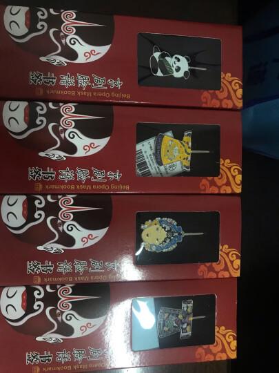 伟龙 创意金属书签中国风京剧脸谱实用年会小礼品中国特色礼品送老外生日礼物送女生男生商务礼品送员工奖品 熊猫 晒单图