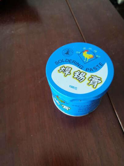 金鸡牌焊锡膏助焊剂助焊膏电烙铁松香膏焊油锡浆100g新款 1盒 晒单图