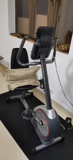 美国爱康2018新款健身车74017静音家用卧式健身运动器材 黑色L/XL 晒单图