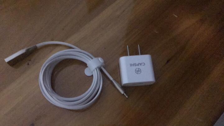 凯普世 苹果手机充电器套装 2.4A快充头+苹果数据线1米 白色 适用iPhoneXS/max/XR/876sPlus/iPad air pro 晒单图