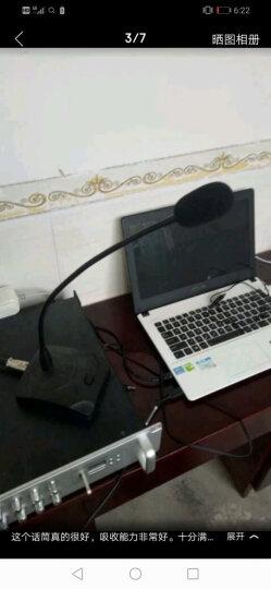 菱声(LINGSHENG) 菱声 CM-38有线台式鹅颈电容会议公共广播话筒麦克风广播喊话咪 晒单图