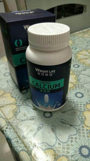 莱特维健液体钙加维生素D软胶囊 中老年人成人青少年钙片补钙 进口保健品 100粒 1盒装 晒单图