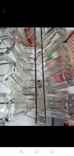 青苹果单层玻璃水杯茶杯套装家用9件套杯子*8+杯架托盘*1 EY2303/L9 晒单图